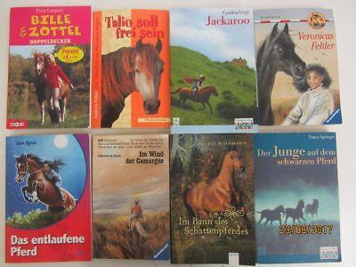 95 Bücher Pferderomane Pferdebücher Pferdeabenteuer Jugendbücher Jugendromane