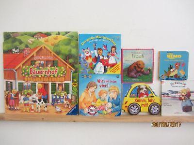 74 Bücher Kinderbücher Kleinkinderbücher Kindergartenbücher Bilderbücher