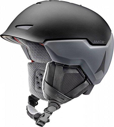 Atomic, Damen/Herren All Mountain Ski-Helm, AMID-Technologie, Revent + AMID, Live Fit, Größe S, Kopfumfang 51-55 cm, Schwarz, AN5005440S