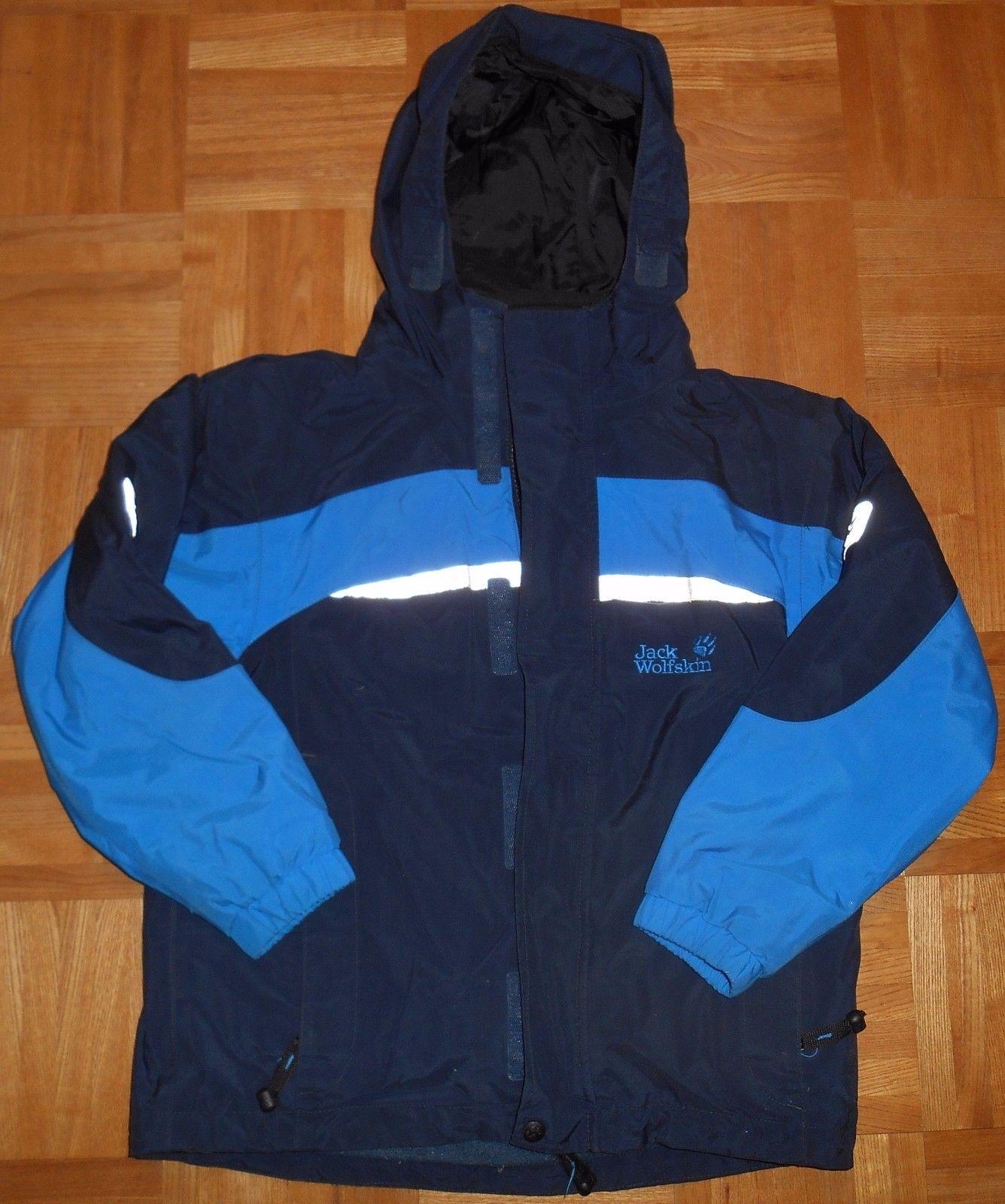 *** Jack Wolfskin Winterjacke, Jacke,  3in1, blau, warm, Jungen, 128