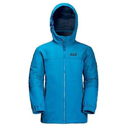 JACK WOLFSKIN 3in1-Jacke G ICELAND 3IN1 JKT, icy lake blue, 92, 1605263-1103092