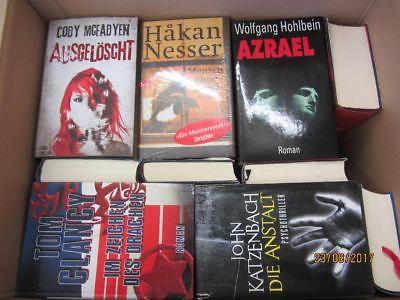 30 Bücher Romane Krimi Thriller Psychothriller  Top Titel Bestseller