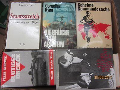 29 Bücher Bildbände Dokumentation 2. WK 3. Reich NSDAP Nationalsozialismus