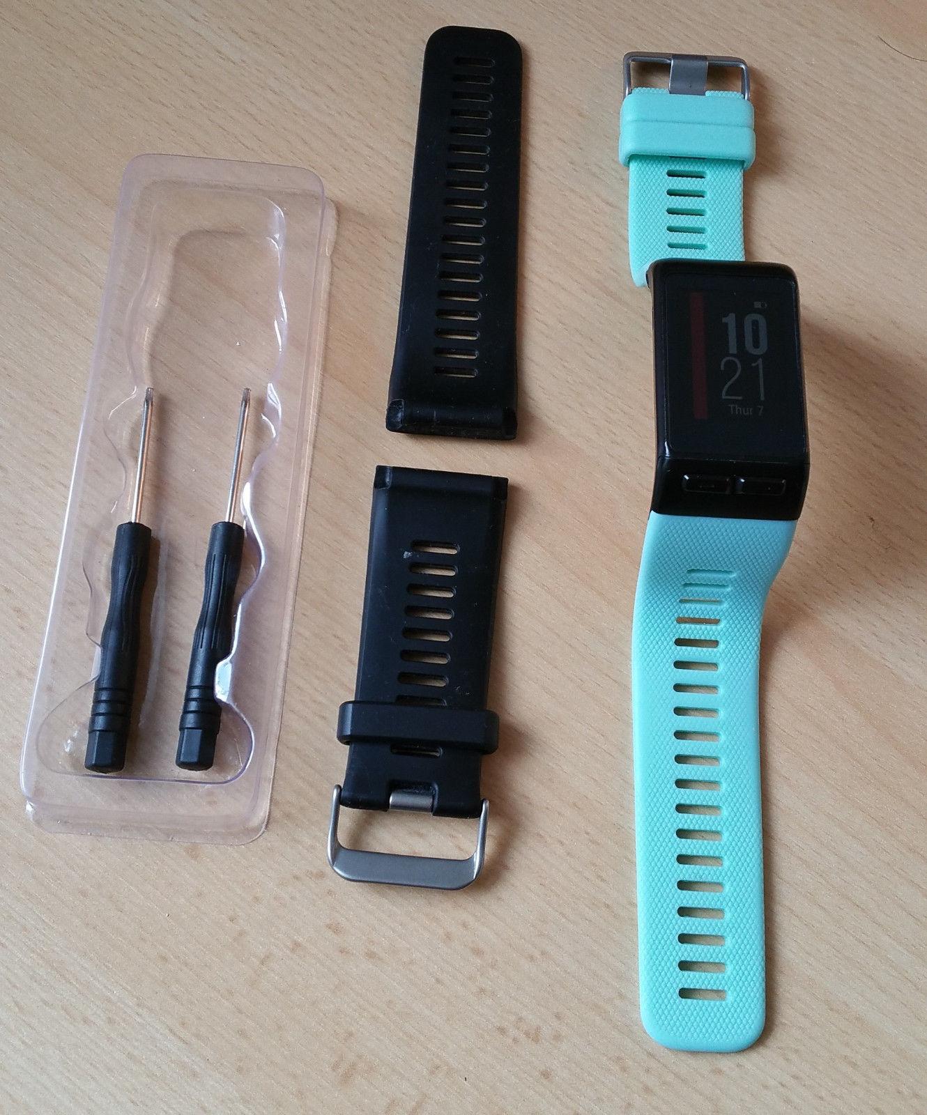 Garmin Vivoactive HR, GPS- Smartwatch mit vielen Funktionen  in gutem Zustand