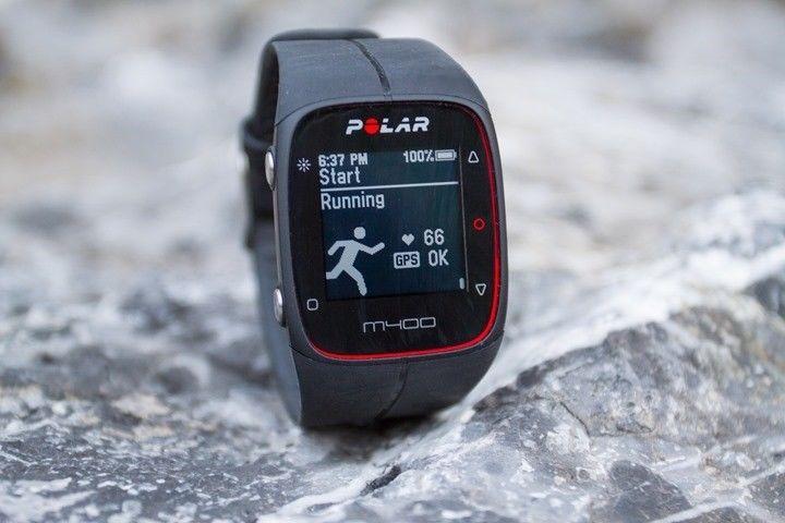 Polar M400 Schwarz mit HR Sensor / Fitnesstracker - TOP ZUSTAND