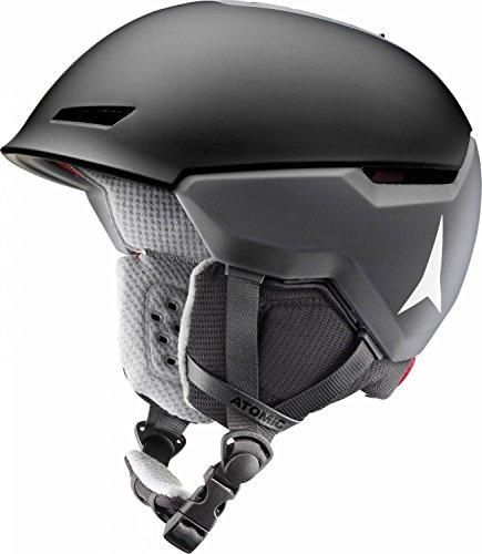 Atomic, Damen/Herren All Mountain Ski-Helm, Revent + LF, Live Fit, Größe L, Kopfumfang 59-63 cm, Schwarz, AN5005448L