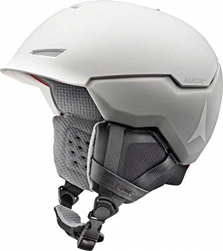 Atomic, Damen/Herren All Mountain Ski-Helm, AMID-Technologie, Revent + AMID, Live Fit, Größe S, Kopfumfang 51-55 cm, Weiß, AN5005442S