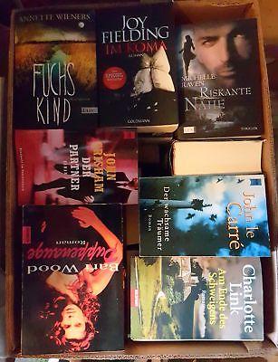 Krimi Thriller - 52 Bücher - Buchpaket Bücherpaket Buchsammlung