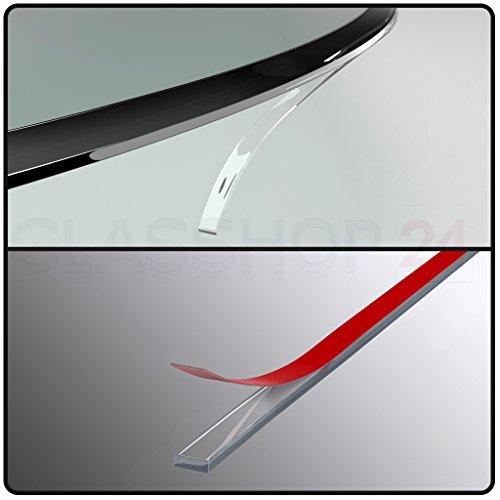 bijon® Silikon Dichtlippe / Kostenloser Versand / Schmutzlippe für Kaminplatte / Glasbodenplatte / Ofenplatte / Bodenplatte / Kaminofenplatte - 4,5m glasklar