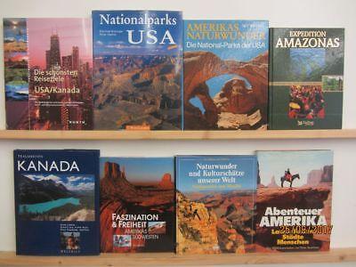 24 Bücher Bildbände Amerika amerikanische Länder amerikanische Städte