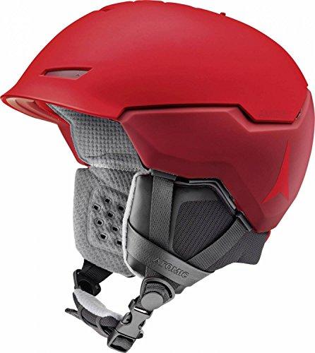 Atomic, Damen/Herren All Mountain Ski-Helm, AMID-Technologie, Revent + AMID, Live Fit, Größe S, Kopfumfang 51-55 cm, Rot, AN5005444S