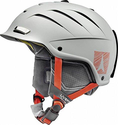 Atomic, Damen/Herren All Mountain Ski-Helm, Nomad LF, Live Fit, Größe S, Kopfumfang 53-56 cm, Hellgrün, AN5005404S