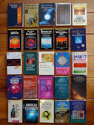 Bücherpaket Sammlung 42 x Esoterik-Bücher Ufos Prophezeiungen Astrologie ...