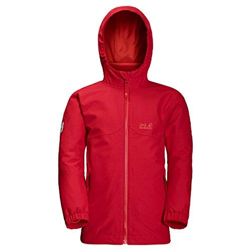 JACK WOLFSKIN 3in1-Jacke B ICELAND 3IN1 JKT, ruby red, 116, 1605253-2505116
