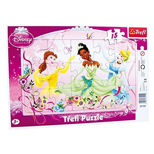 Legler 3442 - Rahmenpuzzle - Princess, 15-teilig