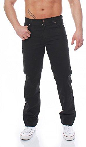 WRANGLER - Durable - Regular Fit & Bootcut as Texas - Herren Jeans, Farbe:Black;Hosengröße:W30/L30
