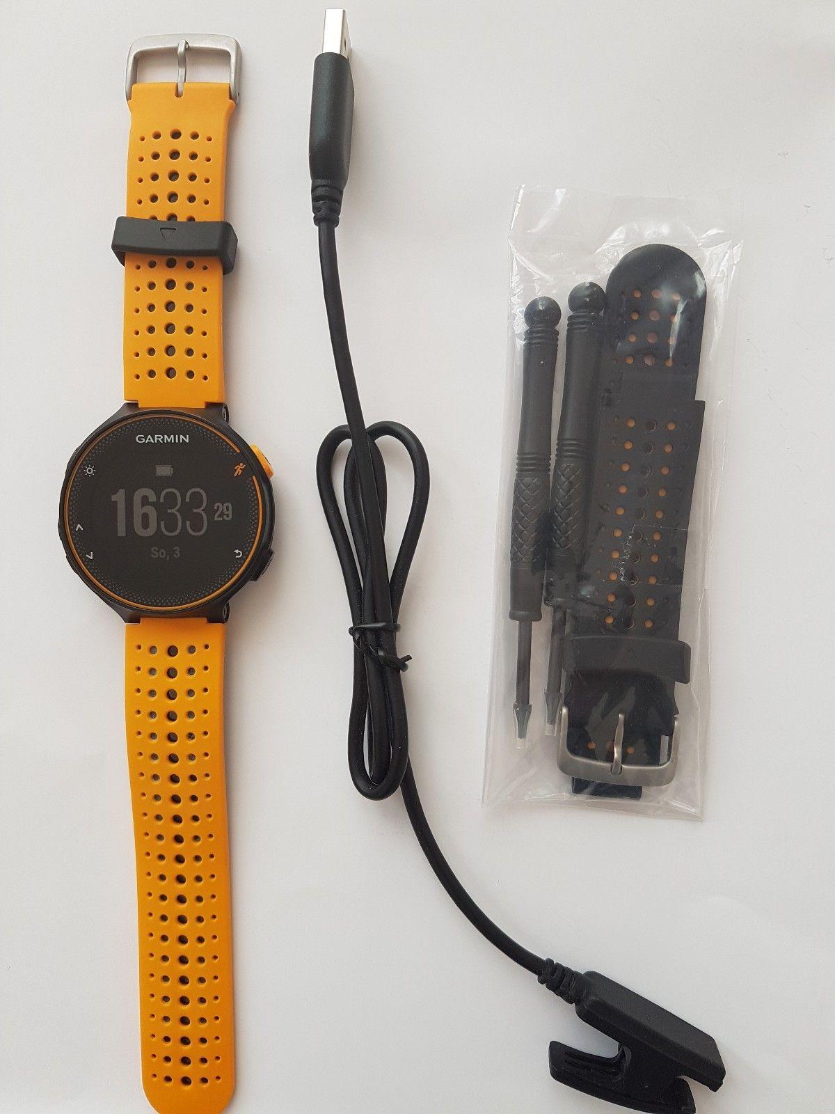 Garmin Forerunner 235 GPS Laufuhr/Sportuhr/Activity Tracker/Herzfrequenzmesser