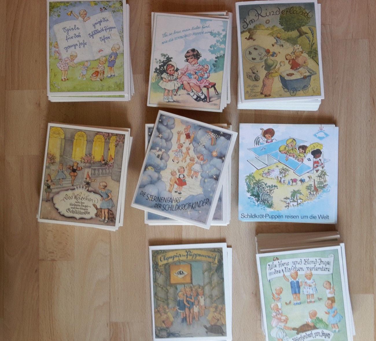 Restposten alle 8 x Kinderbücher Schildkröt buch Sammlung  Dachboden fund alt