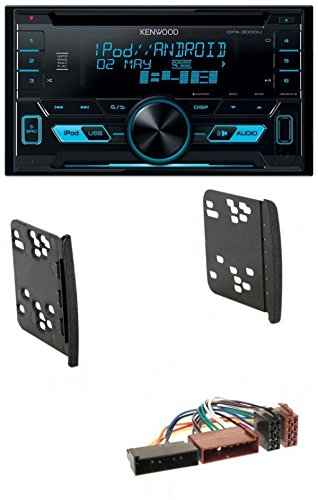 Kenwood DPX-3000U 2DIN USB AUX MP3 CD Autoradio für Ford Cougar Fiesta Focus Galaxy Mondeo Puma