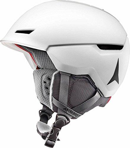 Atomic, Damen/Herren All Mountain Ski-Helm, Revent + LF, Live Fit, Größe L, Kopfumfang 59-63 cm, Weiß, AN5005450L