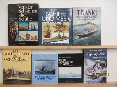 28 Bücher Bildbände Schiffe Schifffahrt Schifffahrtsgeschichte