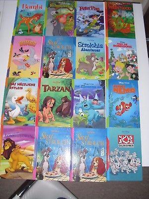 Kinder Bücher von Walt Disney 16 Stück