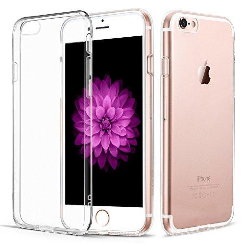 iPhone 7 Hülle, Vkaiy iPhone 7 Schutzhülle Transparent Handyhülle Crystal Clear Silikon Durchsichtig TPU Bumper Case für iPhone 7 (4,7