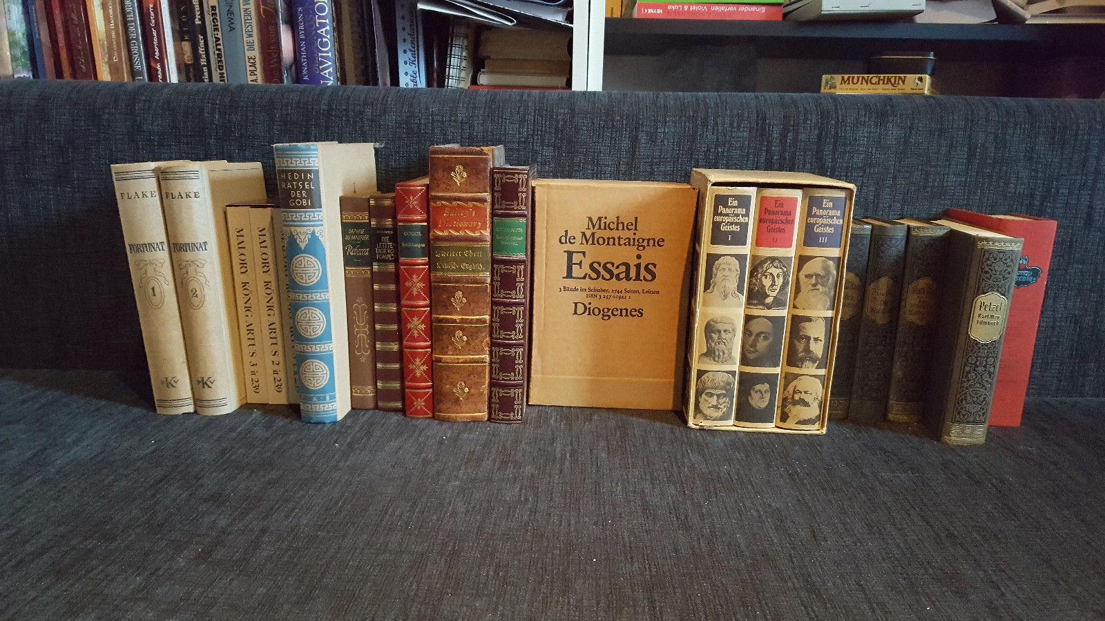 Alte Bücher Sammlung ( Evt Wertvoll )