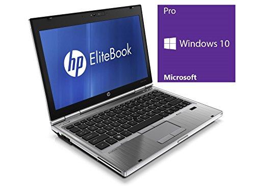 HP Elitebook 2560p Notebook | 12.5 Zoll Display | Intel Core i5-2540M @ 2,6 GHz | 4GB DDR3 RAM | 250GB HDD | DVD-ROM | Windows 10 Pro vorinstalliert (Zertifiziert und Generalüberholt)
