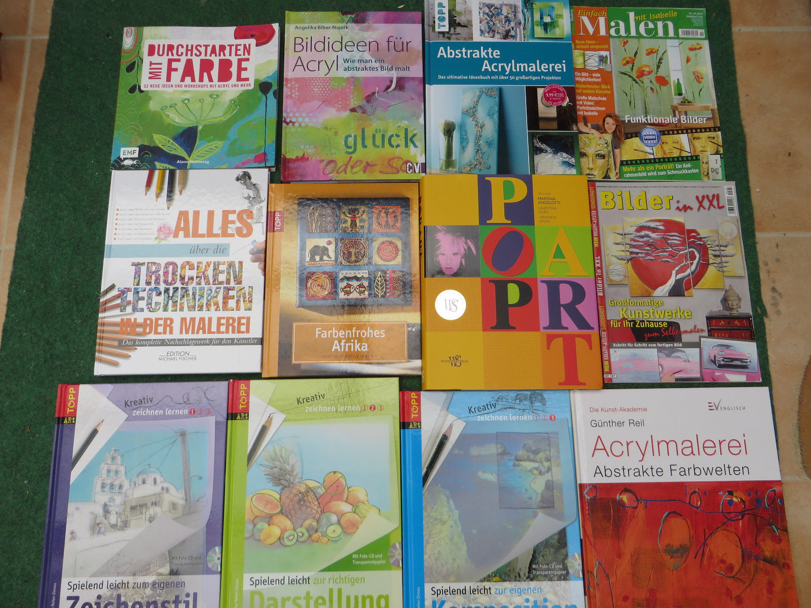 Bücherpaket Malen / Zeichnen