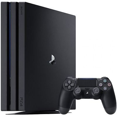 SONY PLAYSTATION 4 PS4 PRO BLACK 1TB SPIELEKONSOLE VIDEOKONSOLE HDMI DDR5