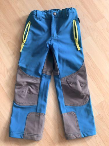 Kinderhose, Softshell, Jako-O, Gr. 110, Blau