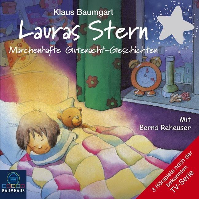 + Baumgart : Lauras Stern 8 Märchenhafte Gutenacht-Geschichten CD HörSpiel NEU