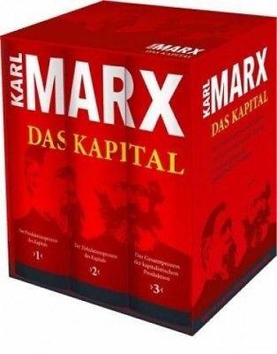 Das Kapital (Vollständige Gesamtausgabe) von Karl Marx (Buch) NEU