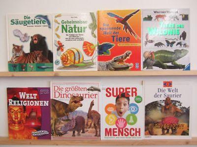 31 Bücher Kindersachbücher Jugendsachbücher Natur Technik Experimente