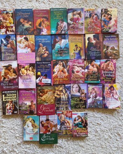 32 historische Liebesromane, Romane , Bücherpaket, Büchersammlung, Highlands