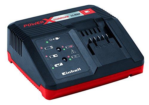 Einhell System Schnellladegerät Power X-Change (18 V, ab 30 Minuten Ladezeit, passend für alle Power X-Change Lithium Ionen Akkus)