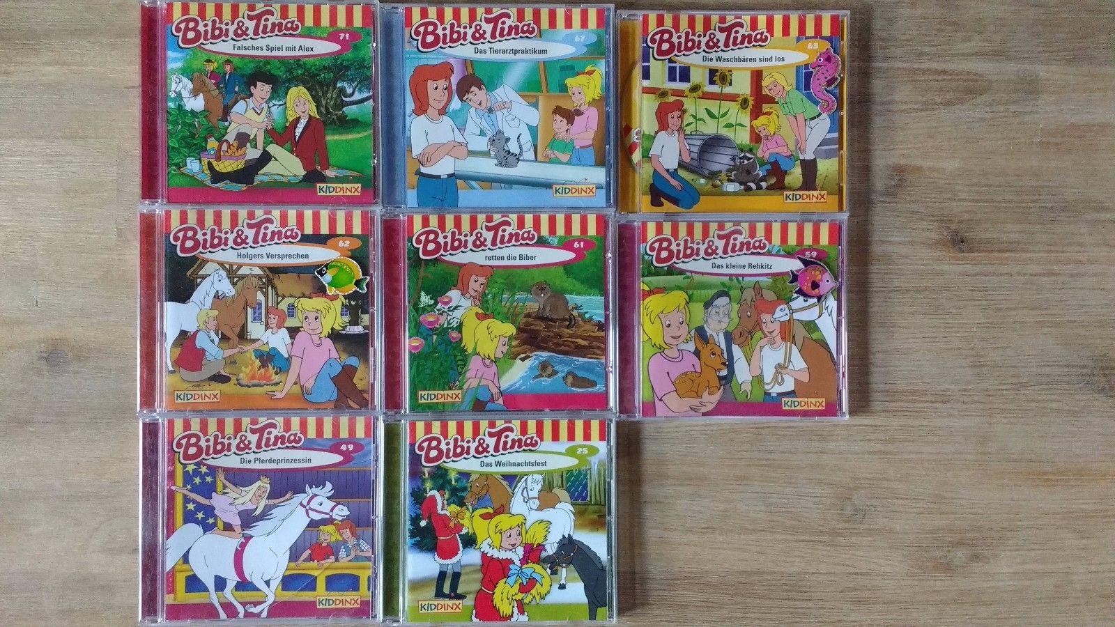 Bibi und Tina 8 verschiedene CD's