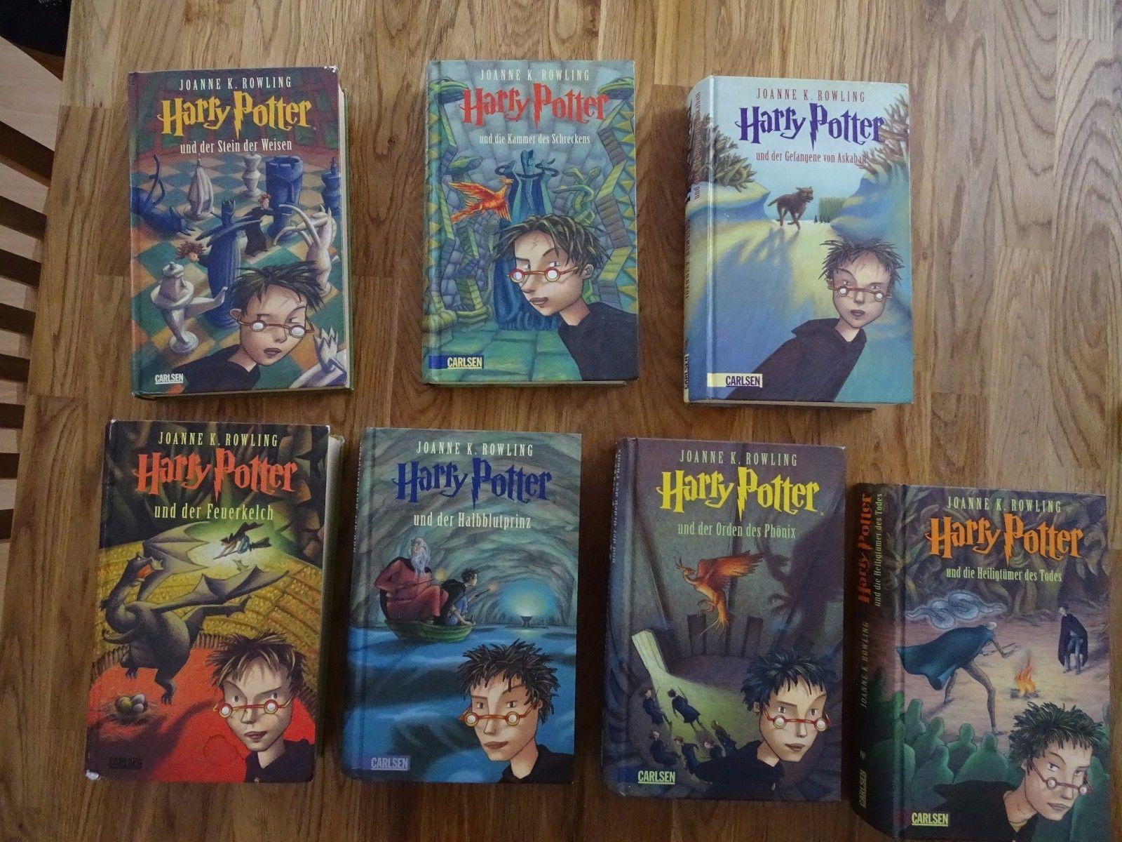 Harry Potter Bücher Band 1 - 7
