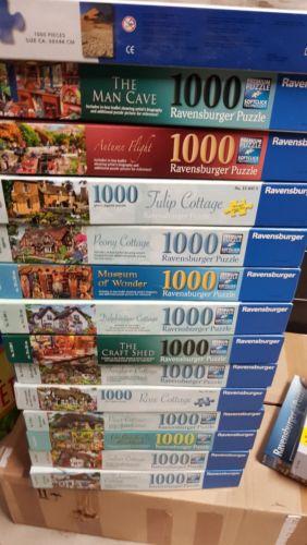 Puzzle 1000 Teile - 14 Stück