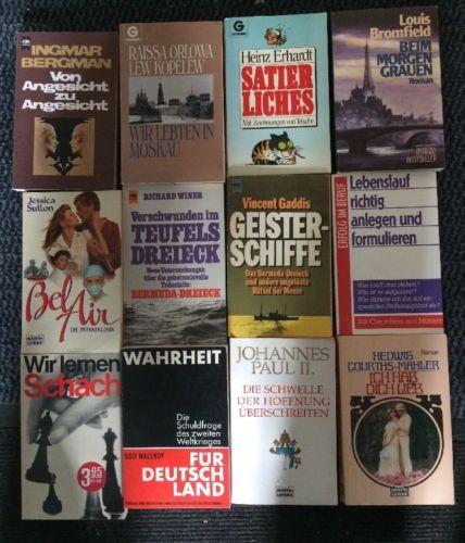 145 Bücher Taschenbücher verschiedener Verlage