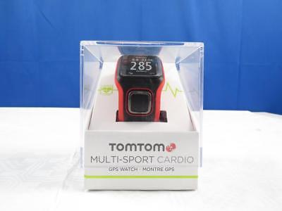 TomTom GPS Sportuhr Multisport Cardio Rot/Schwarz Herzfrequenzmesser