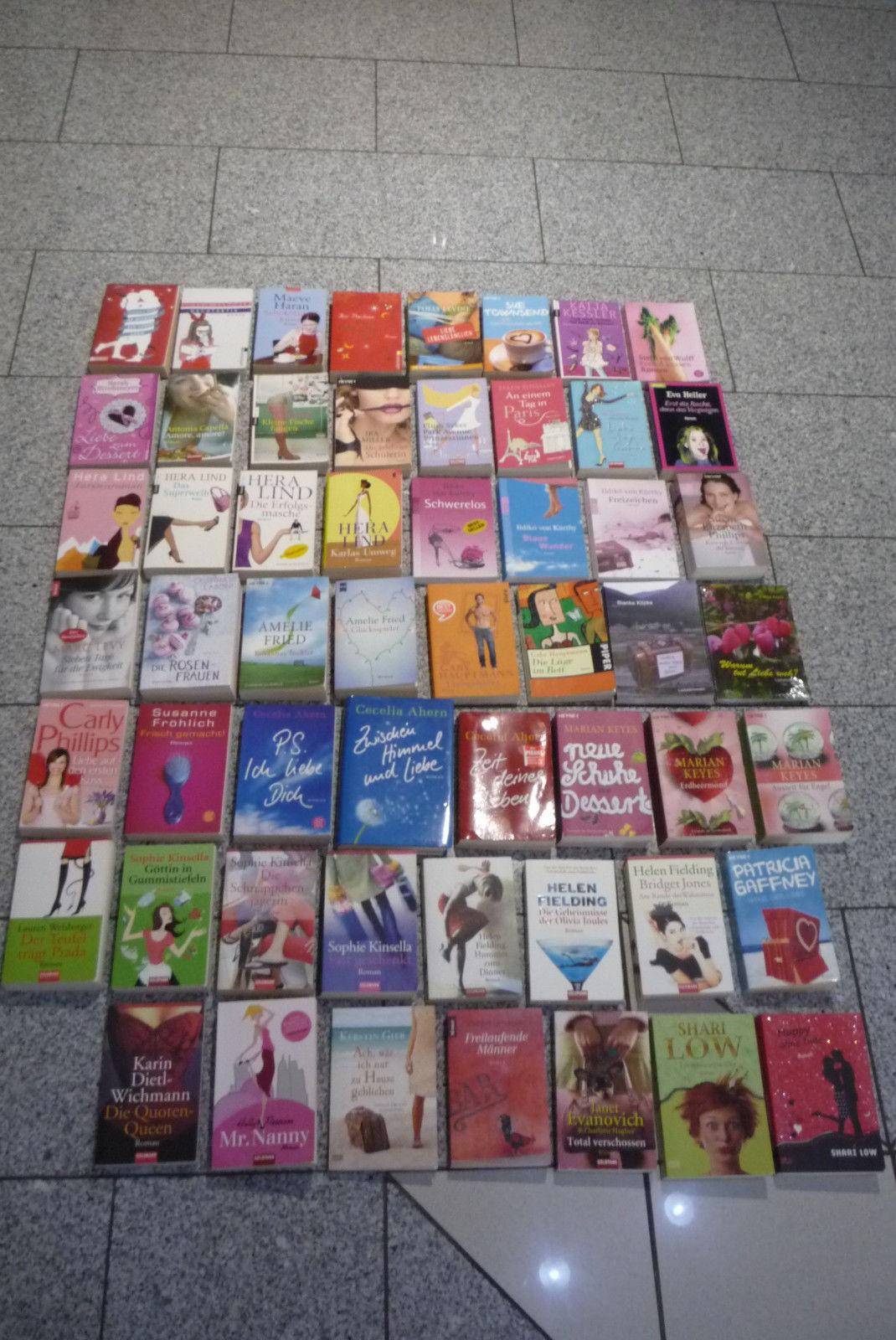 Paket 55 Bücher Frauenromane:Kerstin Gier,Susanne Fröhlich,Sophie Kinsella,Gaby