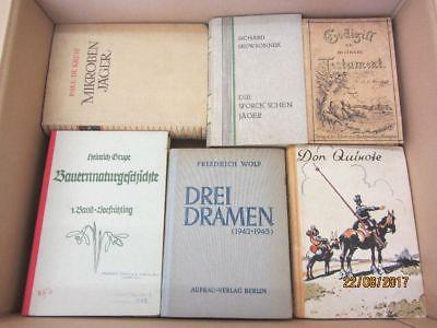 49 Bücher antiquarische Bücher