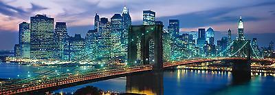 Clementoni 39209 Puzzle 1000 Teile New York Brooklyn Bridge Panorama