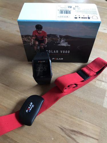 Polar V800 GPS Javier Gomez Uhr