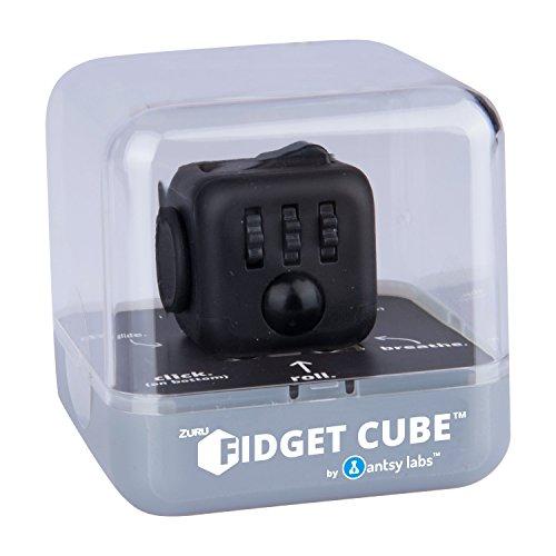 Fidget Cube 34558 Original Cube von Antsy Labs, Spielzeug, Midnight