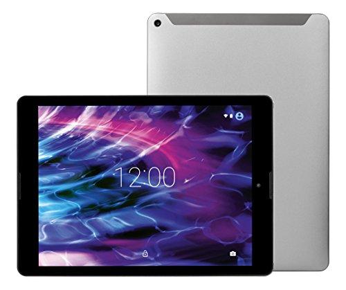 MEDION LIFETAB P9702 MD 60201 24,6cm (9,7 Zoll QHD Display) Tablet-PC (Rockchip Quad Core 1,8GHz, 2GB RAM, 32GB Speicher, Bluetooth, GPS, WLAN, Android 6.0) titan