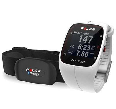 Pulsuhr POLAR M 400  NEU Triathlon Swim Bike Run Laufen Marathon m.BRUSTGURT NEU
