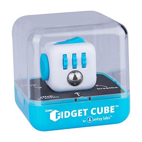 Fidget Cube 34554 Original Cube von Antsy Labs, Spielzeug, Aqua